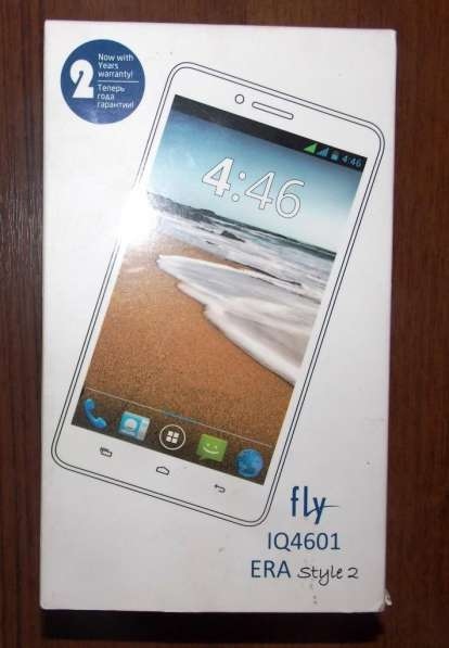 Телефон Fly IQ4601 ERA Style 2. 6 дюймов