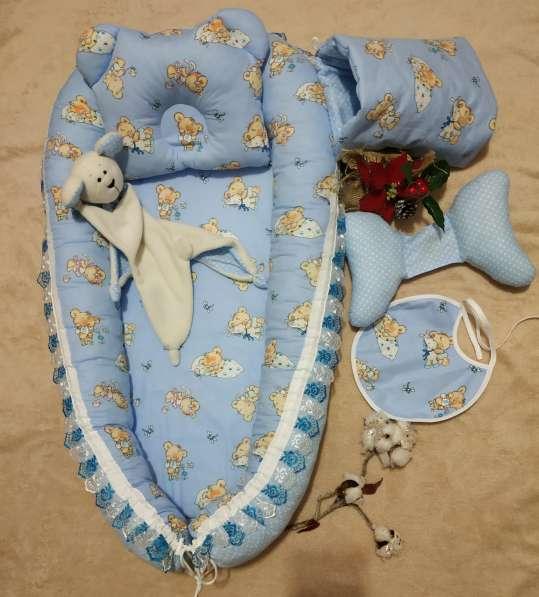 Кокон для новорожденного набор в Краснодаре