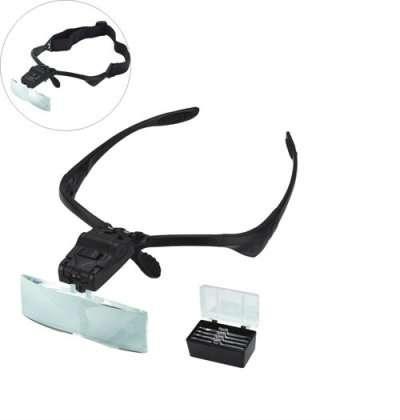 Лупа-очки с набором стекол