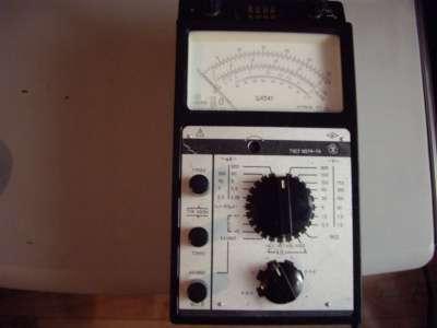 Ампервопьтомметр испытатель транзисторов Ц4341