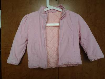 куртка для девочки на осень-весну Англия, MOTHERCARЕ