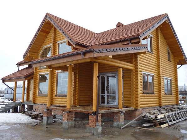 Поставим дом из сруба, бревно,брус(профилированный,гребешок)