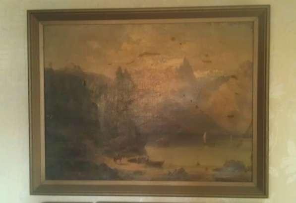 Картина 100 х 78 см, неизвестный итальянский художник