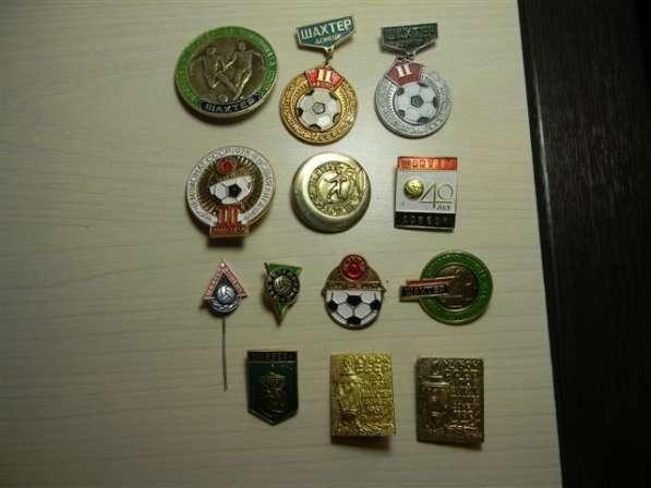 Значки, футбол, Шахтер Донецк,12 штук