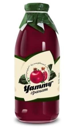"СОК ГРАНАТОВЫЙ, 100% ORGANIC, ""YAMMI"" (ЯММИ)(Беларусь)"