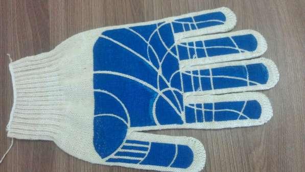 Продаем перчатки х/б с пвх
