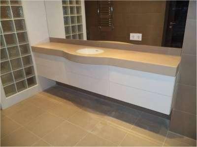 Мебель для ванной на заказ Альфа-Мебель