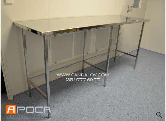 Производство мебели из нержавеющей стали для медицинских и л в Челябинске фото 7