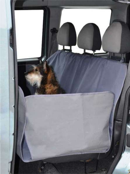 Гамак для перевозки крупных собак Черный