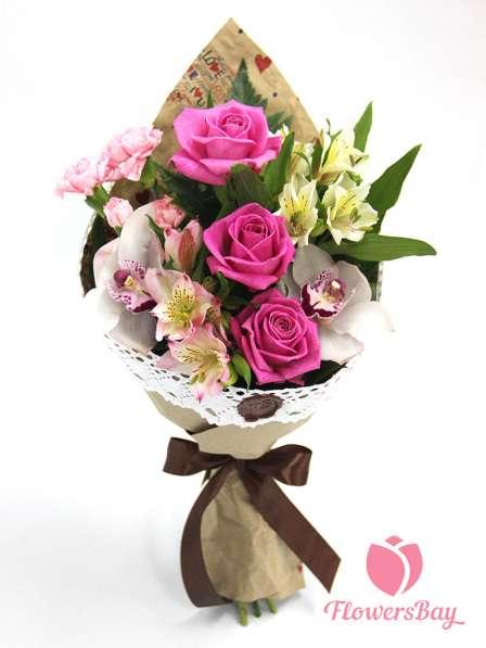 Букеты, цветы с доставкой по Москве