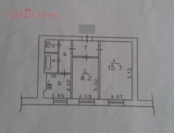 Продам двухкомнатную квартиру в Вологда.Жилая площадь 38,40 кв.м.Этаж 2.Дом кирпичный. в Вологде фото 11
