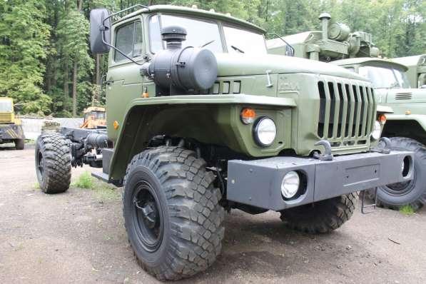 Урал 4320 шасси 4х4 - ЯМЗ-236