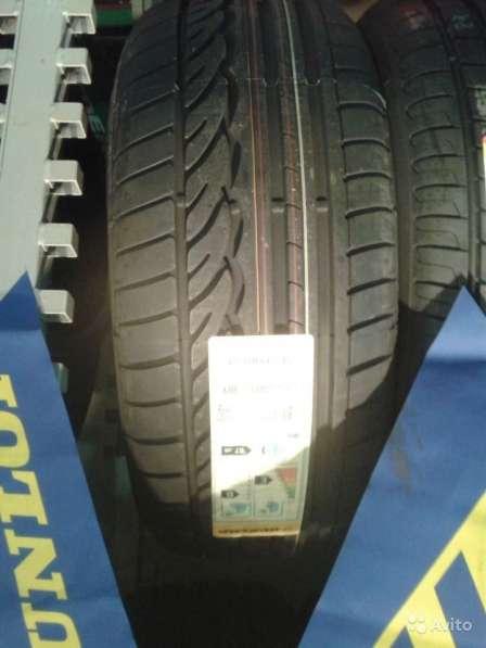 Новые R18 Dunlop 275 35 и 245 40 Sport 01