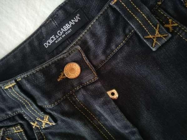 Dolce&Gabbana женские джинсовые шорты новые S 100% authentic в фото 7