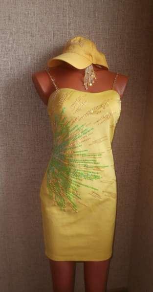 Эксклюзив платье вечернее(клубное) +кепка