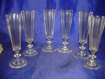 комплект-шесть шампанок- классический ма