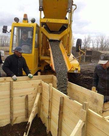 Изготовление бетона на вашем объекте