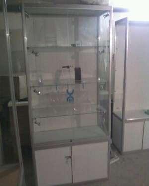 Витрины стеклянные алюминиевого профиля двери стекло купе