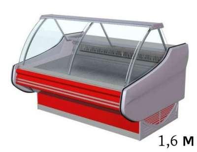 Холодильная витрина, 1,6м, 0...+6С