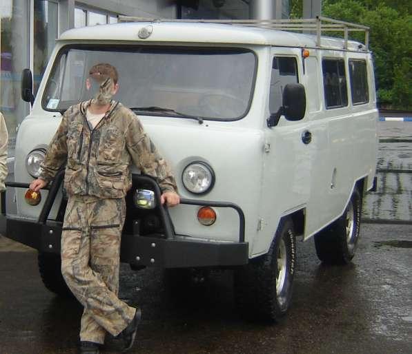 Автомобиль подготовленный для туризма