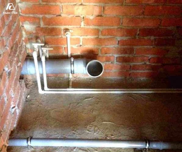 Монтаж водоснабжения всех типов