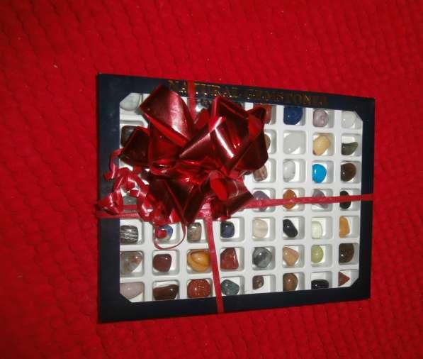 Подарочный набор камней и минералов