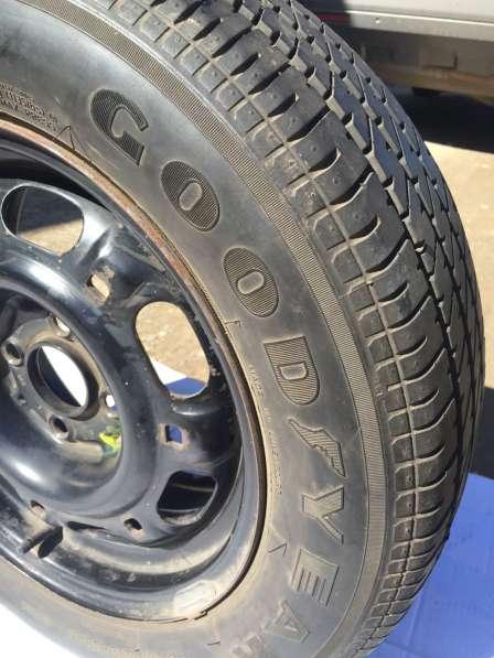 Запасное колесо с диском Фольксваген пассат б/у в Саратове