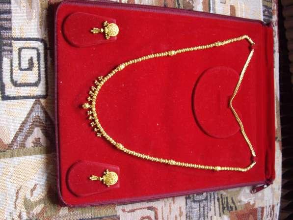 Золотые украшения из Индии