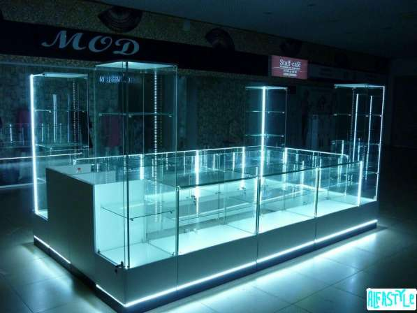 Торговая мебель от производителя под заказ с установкой