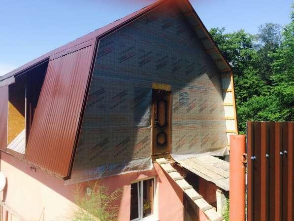 Дом с большим участком земли в Дагомысе