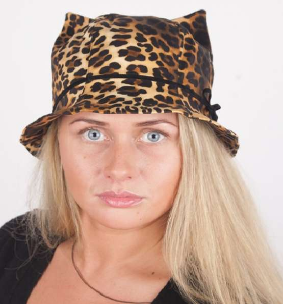 """Женская панама модель 446 """"Кошка"""""""
