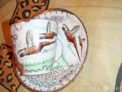 60г руч. роспись чайная пара Фазаны