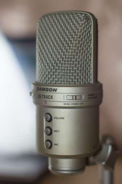 Samson G-track USB (микрофон студийный)
