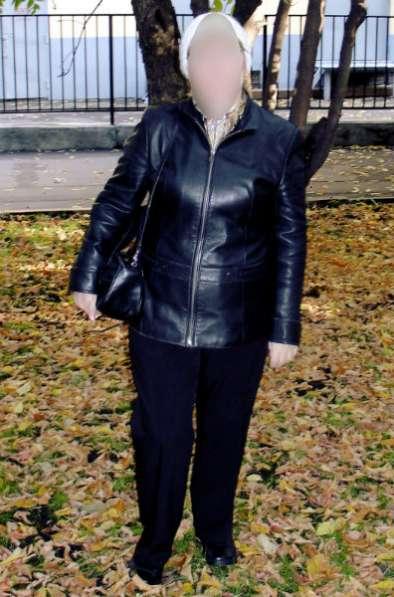 Куртка женская натуральная кожа кожа размер 46-48