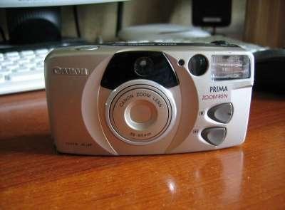 пленочный фотоаппарат Canon prima zoom 85 N QD