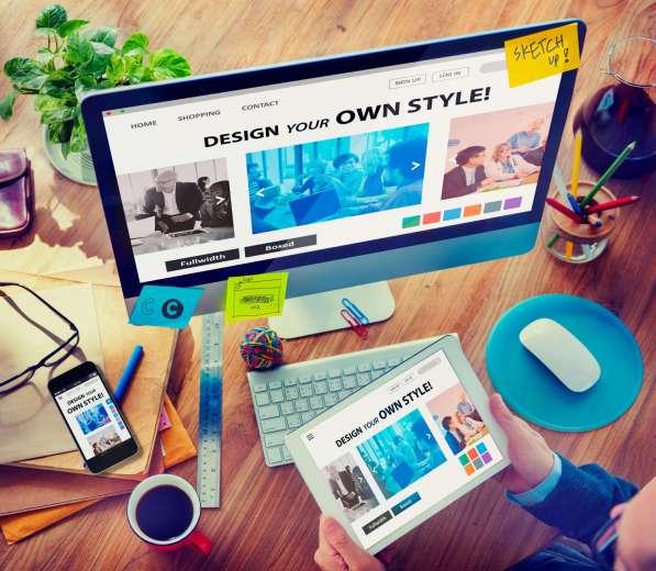 Создание сайтов и лендингов с адаптивным дизайном