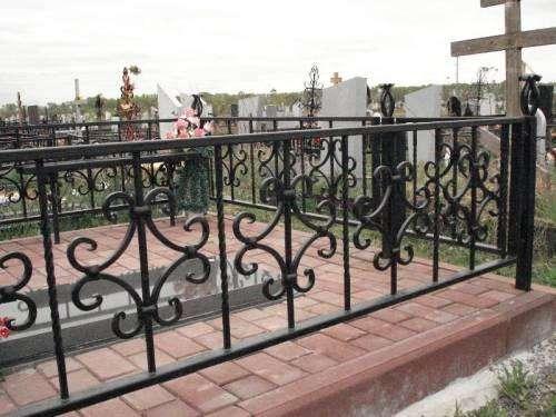 Оградки на могилу от 450р. м\п