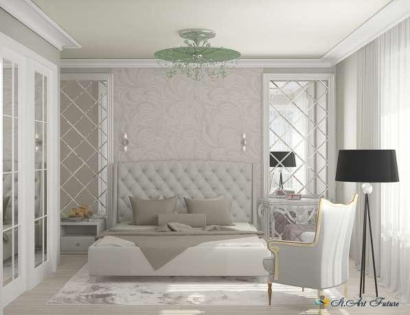 Дизайн интерьера комнаты, квартиры, дома. Уникальный стиль в Краснодаре фото 3