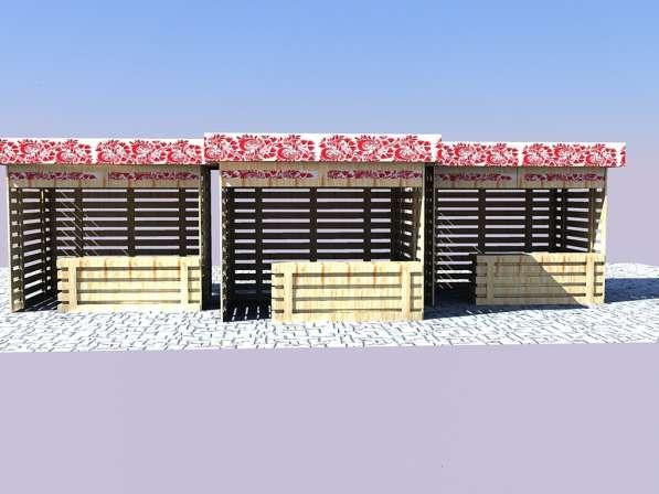 Изготавливаем деревянные ярмарочные домики в Ростове-на-Дону фото 7