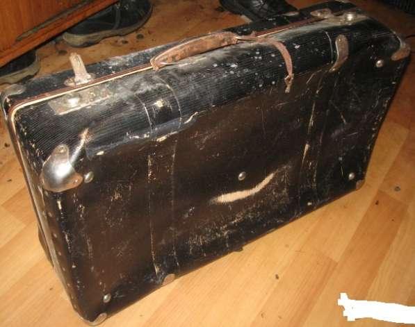 Старый чемодан 60х -70х годов размер