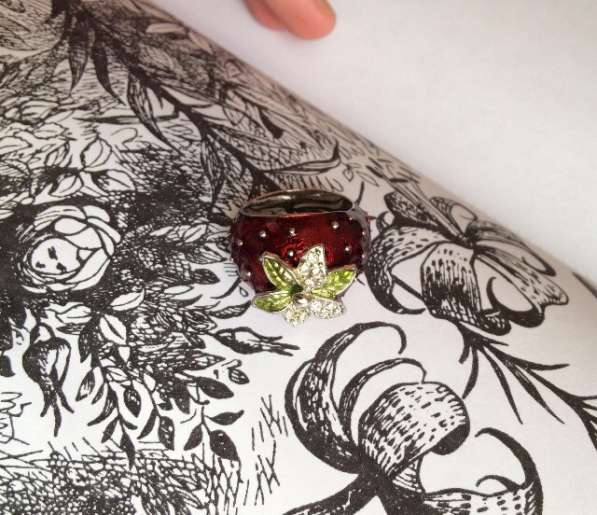 Перстень Цветок