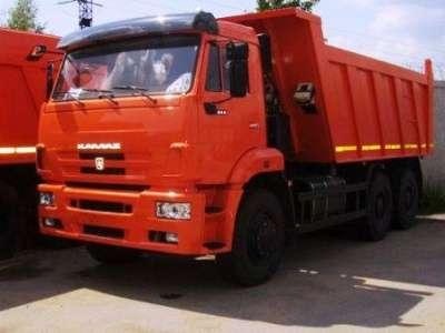 грузовой автомобиль КАМАЗ 6520