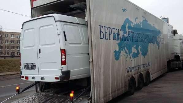 Крытые автовозы-эвакуаторы в Санкт-Петербурге фото 9