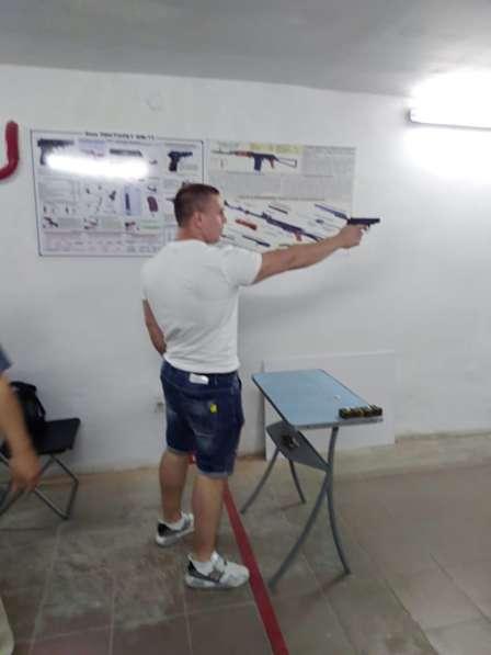 Обучение охранников 4-6 разрядов,. Услуги стрелкового тира в Омске фото 3