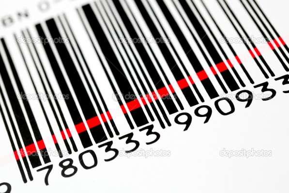 Штрих коды EAN-13, ITF-14 для Вашей продукции