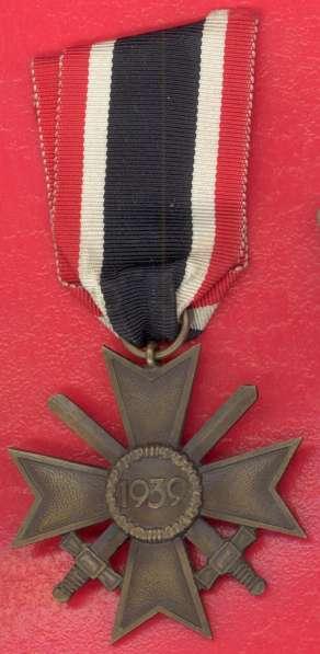 Германия Крест боевых заслуг 2 класса с мечами КВК