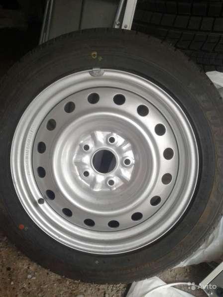 Новое колесо для тойоты 205/55/16 запаска