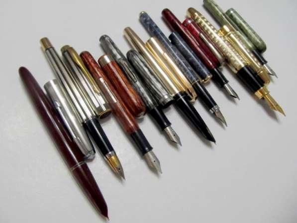 Перьевые винтажные ручки фирм Hero, Wing Sung, Arnold, новые