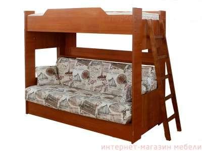Кровать детская двухъярусная бор клик кляк