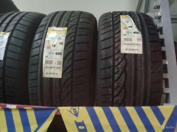 Новый разноширокий комплект R18 на W221 Dunlop
